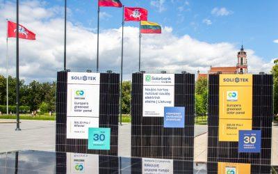 Vi monterer Europas grønneste solcellepanel